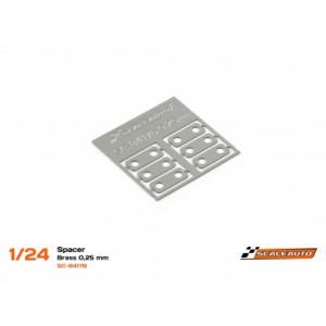 Separadores Eje Trasero 0,25mm Acero SC-NR2 Klasse