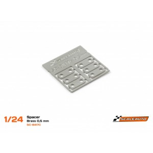 Separadores Eje Trasero 0,5mm Acero SC-NR2 Klasse1
