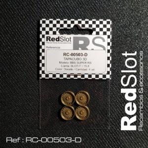 Tapacubos BBS SUPER RS p. Slot it 15,8 DORADOS