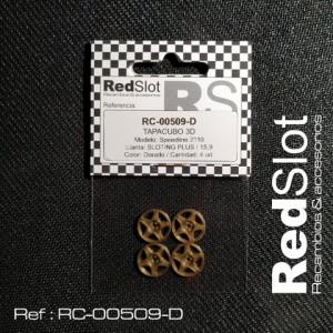 Tapacubos SPEEDLINE 2110 p. Sloting 15,9 DORADO
