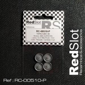Tapacubos BBS SUPER RS p. Sloting 15,9 PLATEADO
