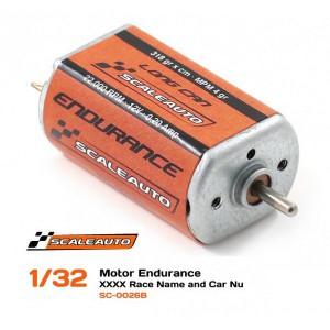Motor SC26 B 22500 RPM 340 gr/cm 200 mA MPM -4