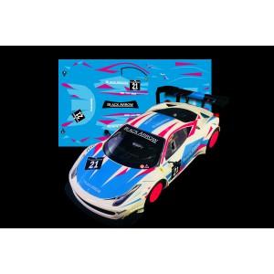 Black Arrow Ferrari GT3 ITALIA Kit Calcas BLUE
