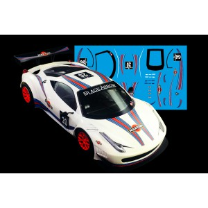 Black Arrow Ferrari GT3 ITALIA Kit Calcas MARTINI