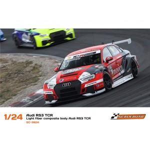 Carrocería 1/24 Audi RS3 TCR en Fibra