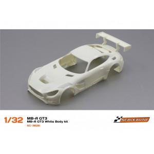 SC 3626 Carrocería Mercedes AMG GT3 en Kit Blanca