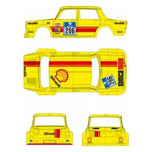 BRM TTS025 Simca 1000 Shell n 286