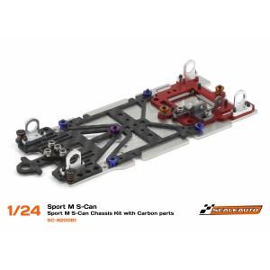Scaleauto SC8200B1 Chasis Sport XM 1/24 PreMontado