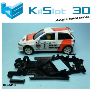 Chasis angular Race SOFT Seat Ibiza Kit Car SCX
