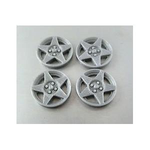 Tapacubos Type Speedline Silver comp slotit 15,8mm