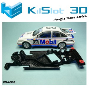 Chasis angular Race SOFT Ford Sierra Ninco
