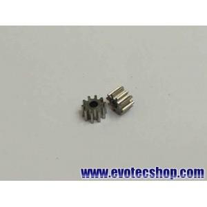 Piñones acero 10 dientes 5,3 mm (x 2)