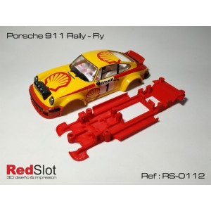 Chasis 3D Lineal Porsche 911 Rally - Fly