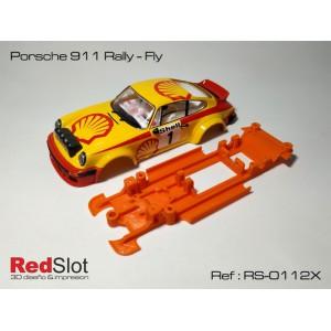 Chasis 3D Lineal Porsche 911 Rally - Fly Blando