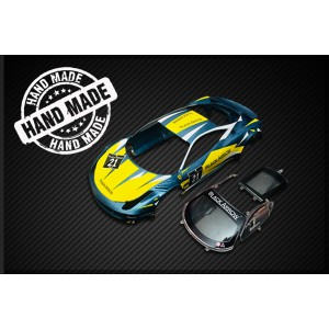 Black Arrow Carroceria GT3 Italia BLUE-YELLOW