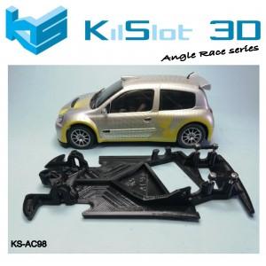 Chasis angular Race SOFT Renault Clio S1600 Ninco
