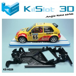 Chasis angular Race SOFT Citroen Saxo Ninco