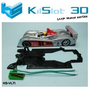 Chasis RACE BANCADA INDEPENDIENTE Audi LMP10 Avant