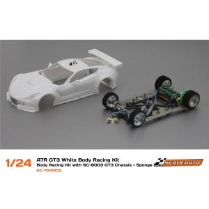SC 7100R Corvette C7R Racig Kit con Chasis SC-8003