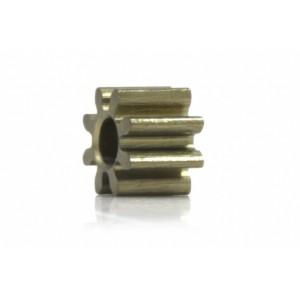Piñón 8d. M50 ERGAL para Eje 2mm diam 5,4mm