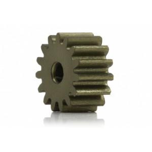Piñon 15d. M50 ERGAL para Eje 2mm diam 8,70mm
