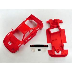 Chasis BLOCK Ferrari F40 AW + accesorios comp SCX