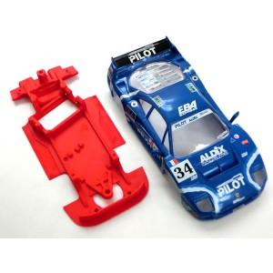 Chasis BLOCK Ferrari F40 AW completo comp SCX