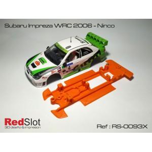 CHASIS 3D BLANDO- Subaru Impreza WRC 2006 Ninco