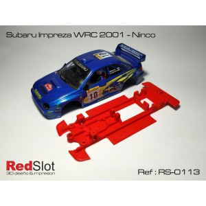 CHASIS 3D - Subaru Impreza WRC 2001/4 Ninco