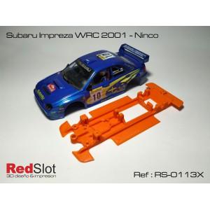 CHASIS 3D BLANDO- Subaru Impreza WRC 2001/4 Ninco
