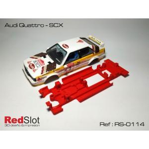 CHASIS 3D - Audi Quattro SCX