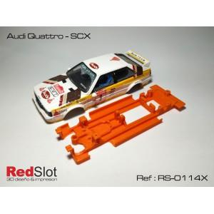 CHASIS 3D BLANDO- Audi Quattro SCX