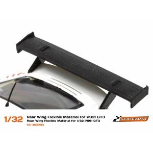 Aleron de goma flexible Porsche 991 GT3 1/32
