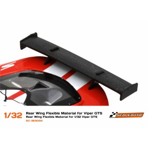 Aleron de goma flexible Viper GTS 1/32