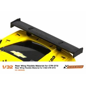 Aleron de goma flexible Corvette C7R GT3 1/32