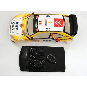 Cockpit de Lexan rally Xsara ( comp. SCX)