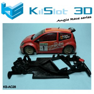 Chasis angular RACE SOFT  Citroen C2 S1600 SCX