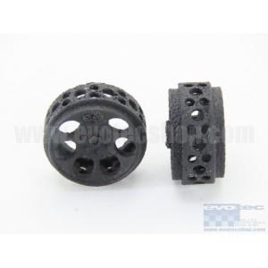 Llanta Plástico 3DP 15.8x8mm. Monza-2 Eje 2,38