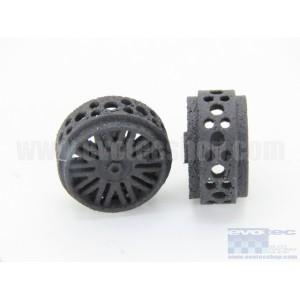 Llanta Plástico 3DP 16,5x8mm. BBS Eje 2,38