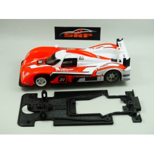 Chasis 3D Lola Aston Martin DBR 1/2 . For SLOT.IT