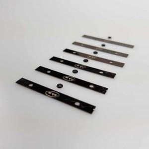 Lastre metálico 0,6gr x 6uds