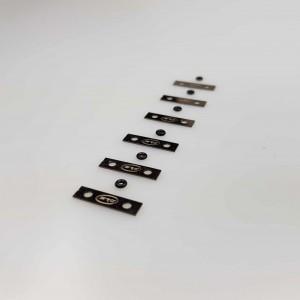 Lastre metálico 0,25gr x 6uds