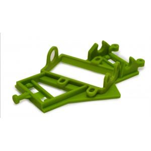 Soporte motor angular duro verde