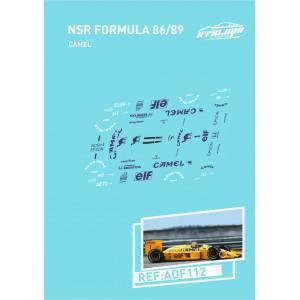 Calca Formula 1 NSR 1/32 Camel