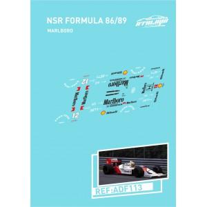 Calca Formula 1 NSR 1/32 Marlboro