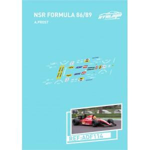 Calca Formula 1 NSR 1/32 Ferrari A. Prost