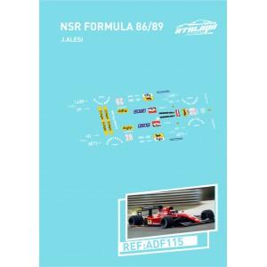 Calca Formula 1 NSR 1/32 Ferrari J. Alesi