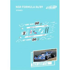 Calca Formula 1 NSR 1/32 Gitanes