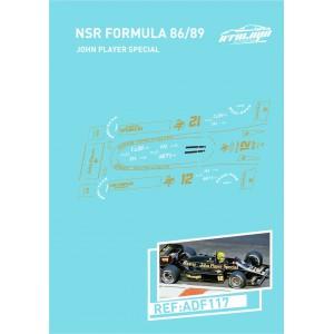 Calca Formula 1 NSR 1/32 John Player Special