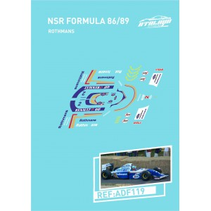 Calca Formula 1 NSR 1/32 Rothmans